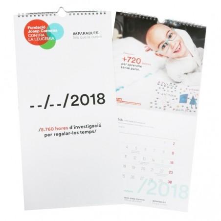 Calendario 2018 catalán